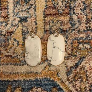 Marble Anthropologie Earrings